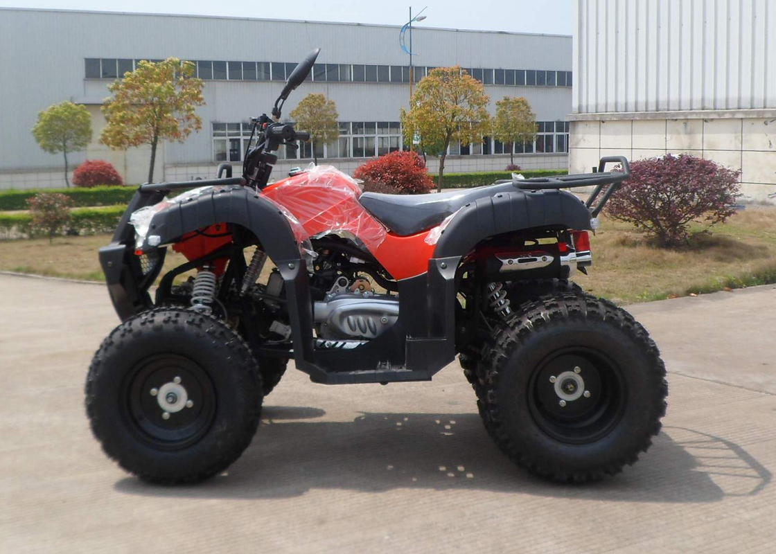 Red Eec Racing 200cc Atv On Mountain Road One Seat