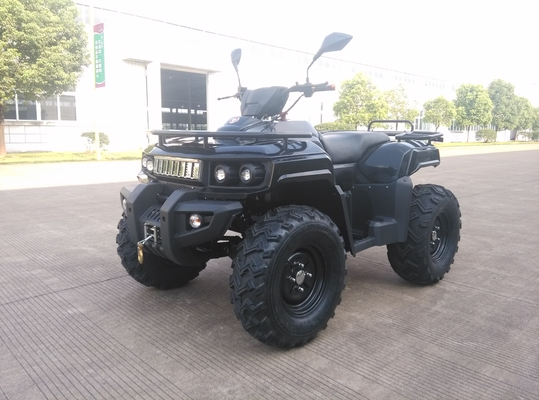 China 3KW 72V Motor Electric Utility ATV 4x4 Wheels With Shaft Drive , Black distributor
